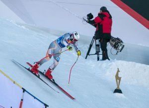 Против ветра: снежная гонка в Австрии