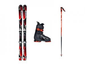 Горные лыжи для новичка