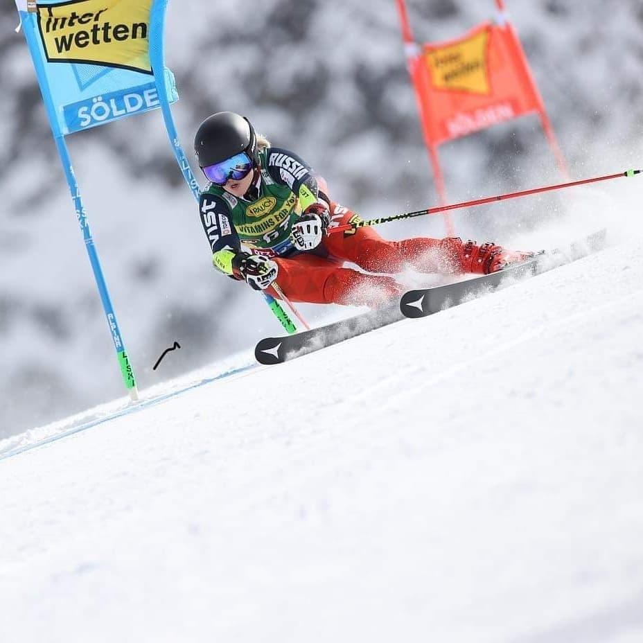 Екуатерина Ткаченко кубок мира по горным лыжам