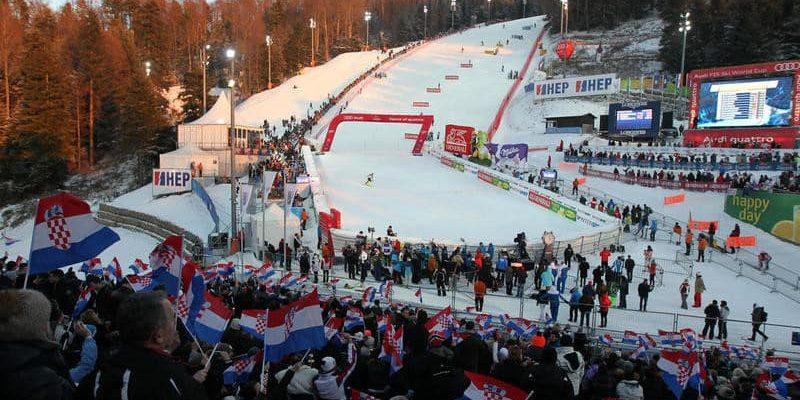 Загреб горные лыжи кубок мира